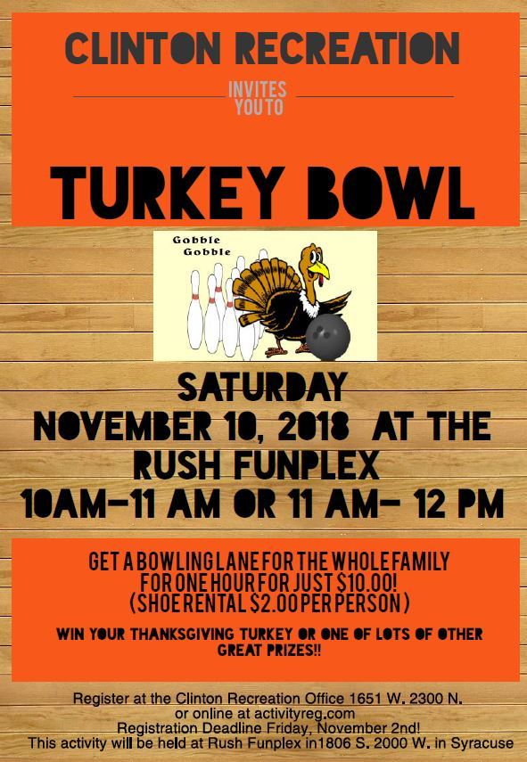 Turkey bowl 2018
