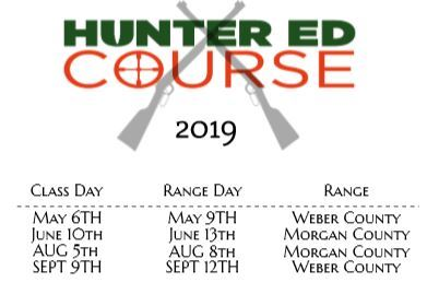 Course Schedule 2019